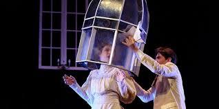 Teatro Ghione, una scena della Commedia