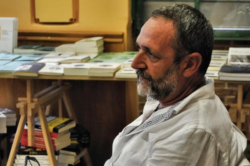 Lo scrittore Marco Proietti Mancini