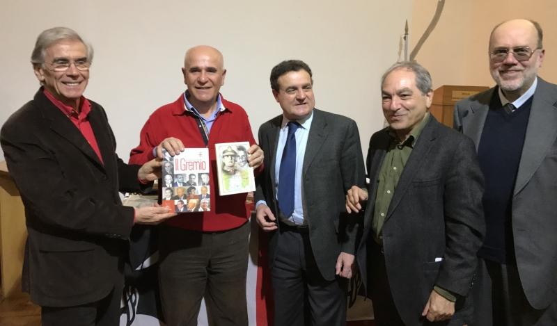 da sin: Antonio Maria Masia, Peppino Canneddu, Franco Siddi, Ivan Meloni, Giovanni Feliciani