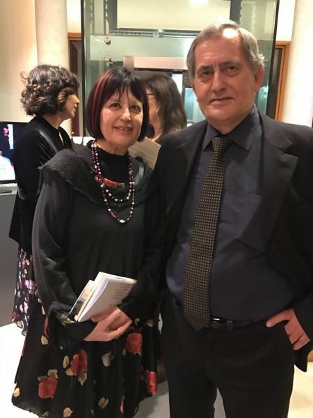Angelo Sagnelli e Neria De Giovanni