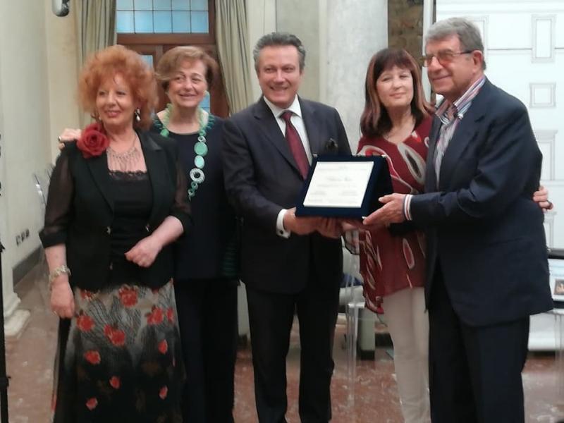 da sinistra; A. Manna, AM. Torroncelli, Antonio Casu, N. De Giovanni, C. Calabrò