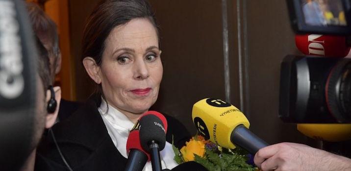 Sara Danius, segretaria permanente Accademia svedese