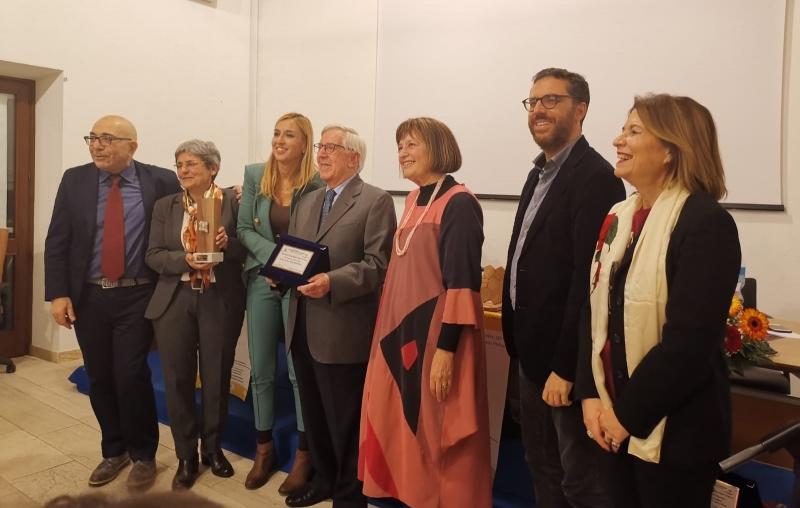 La giuria con al centro Gianni Filippini, Premio Speciale