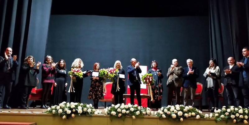 Alghero, Civico Teatro, i saluti finali