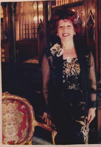 Anna Manna, fondatrice del Premio Le Rosse Pergamene