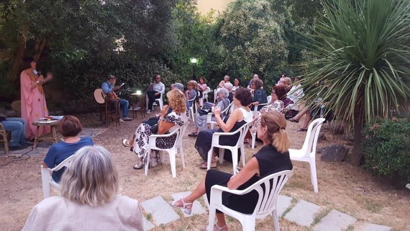 La serata inaugurale delle Letture d'estate a Villa Edera 2020