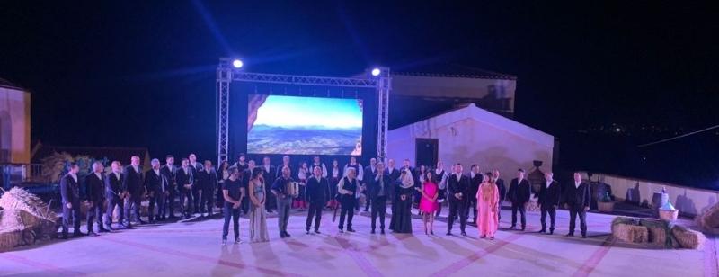 Galtellì, Anfiteatro, Conclusione del Premiu Mastru 'e ammentos 2021
